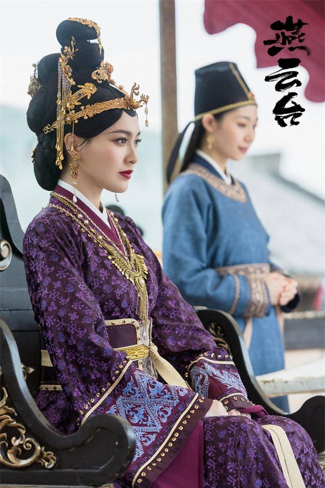 Yến Vân Đài: Loạt ảnh làm Thái Hậu của Đường Yên, môi đỏ mặt láng mịn cực kỳ xinh đẹp  - Ảnh 4.