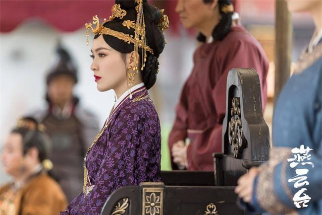 Yến Vân Đài: Loạt ảnh làm Thái Hậu của Đường Yên, môi đỏ mặt láng mịn cực kỳ xinh đẹp  - Ảnh 5.