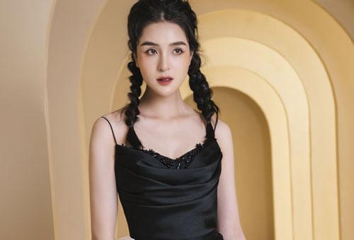 Á hậu Hoàng Anh quyến rũ, hoá thành 'nàng thơ' của Hà Duy
