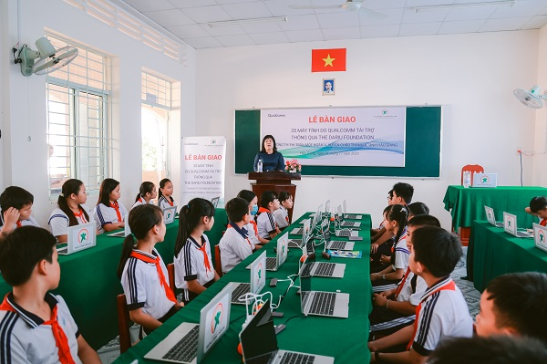 Chương trình hợp tác lần này cũng phần nào hỗ trợ Quỹ Dariu tiếp tục mở rộng các hoạt động nâng cao trình độ tin học trong cộng đồng.