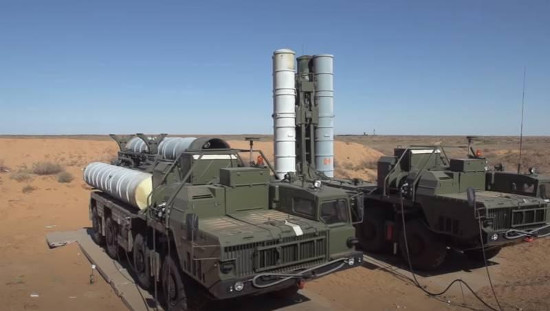 Hệ thống tên lửa phòng không tầm xa S-300 của Nga. Ảnh: TASS.