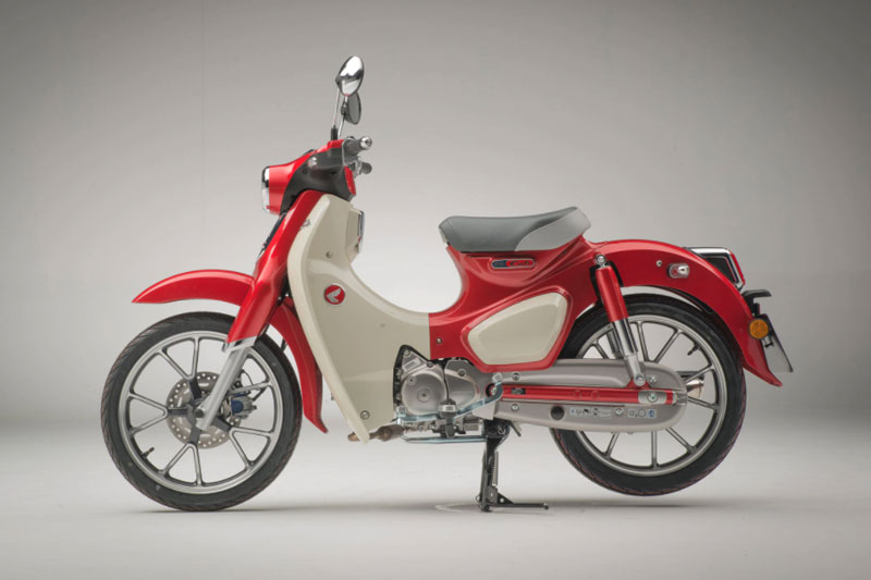 5. Honda Super Cub C125 ABS 2021.