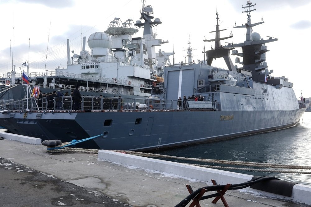 Tàu hộ tống Nga trở thành tàu đáng gờm nhất tại châu Phi?