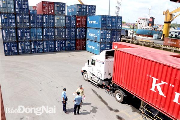 Hàng hóa xuất nhập khẩu lưu trữ tại cảng Đồng Nai