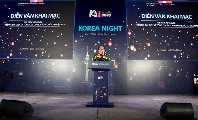 Ông Park Jong Sun - Trưởng Đại diện Tổng cục Du lịch Hàn Quốc tại Việt Nam
