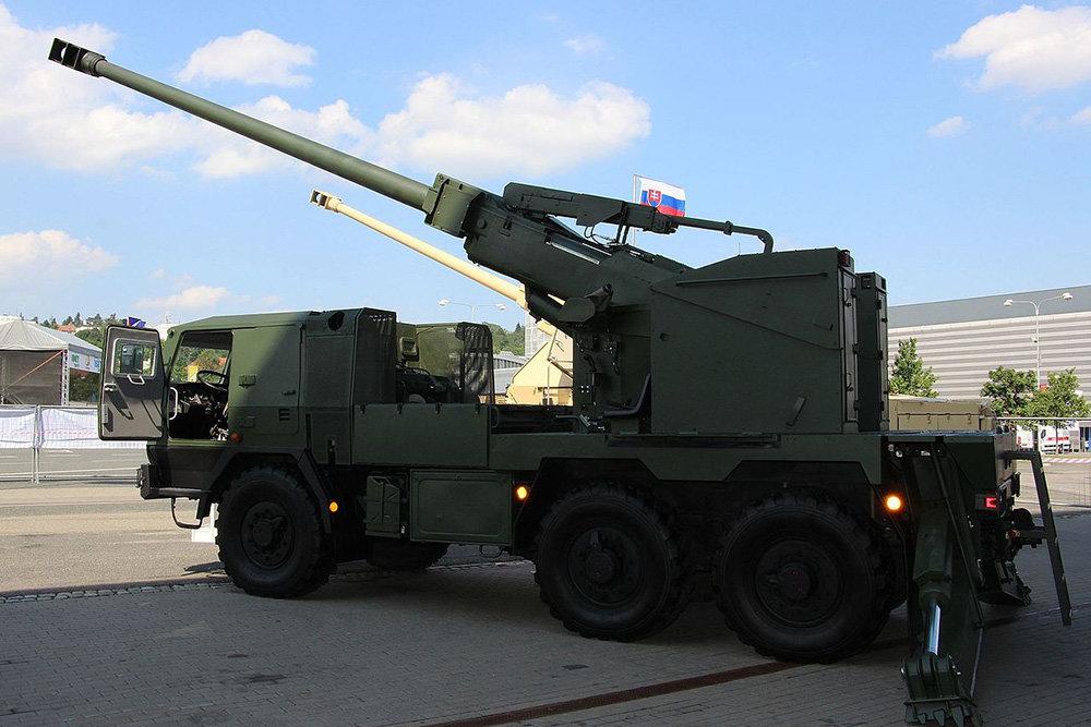 Công nghệ trên pháo tự hành EVA sẽ được sử dụng để hoàn thiện Bogdana của Ukraine. Ảnh: Topwar.