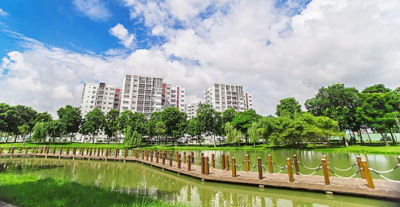 Vốn đầu tư nước ngoài vào lĩnh vực bất động sản tăng mạnh.