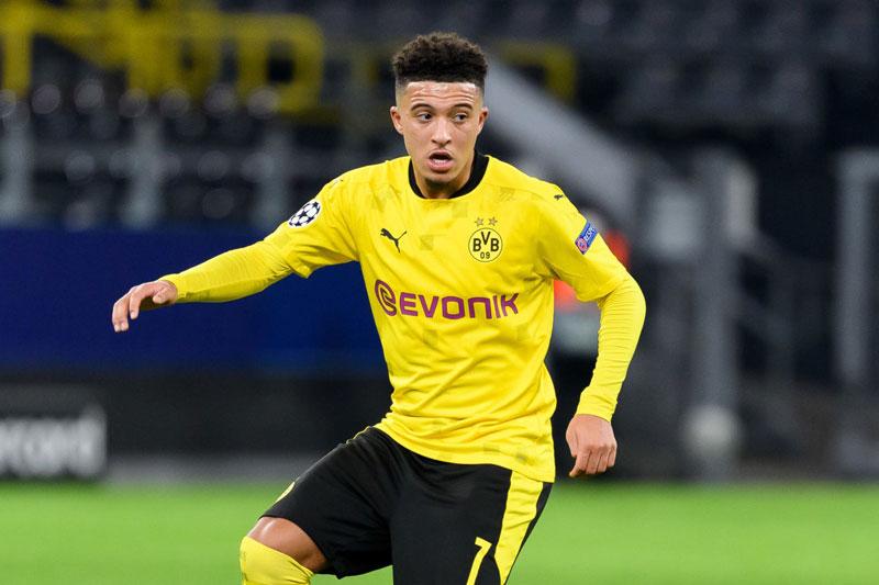 Tiền vệ phải: Jadon Sancho (Borussia Dortmund).