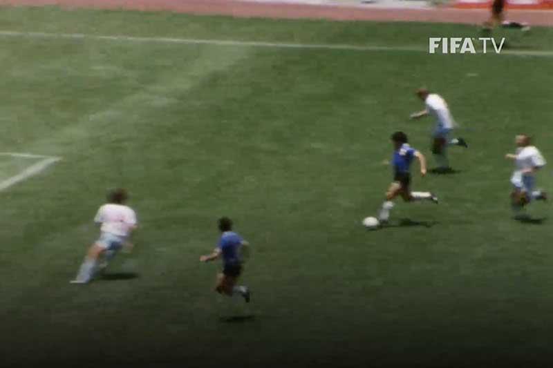 Chiêm ngưỡng bàn thắng đẹp nhất lịch sử World Cup của Maradona