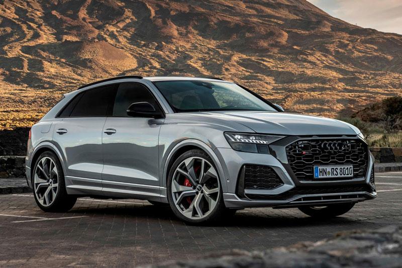 =8. Audi RS Q8 2021 (thời gian tăng tốc từ 0-96 km/h: 3,7 giây).