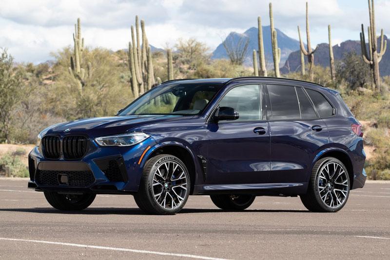 =8. BMW X5 M Competition 2021 (thời gian tăng tốc từ 0-96 km/h: 3,7 giây).