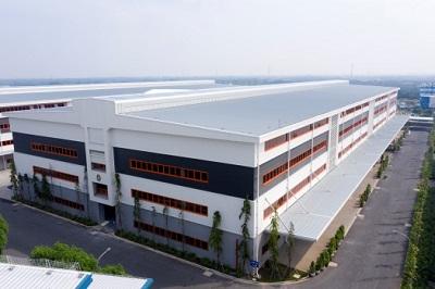 Nhà xưởng có tầng của KCN Kizuna.