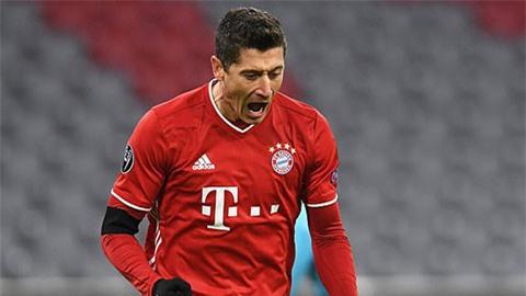 Lewandowski vào Top 3 chân sút vĩ đại nhất lịch sử Champions League