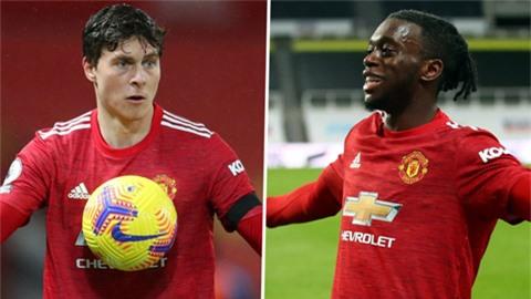 Man United thở phào với chấn thương của Wan-Bissaka và Lindelof