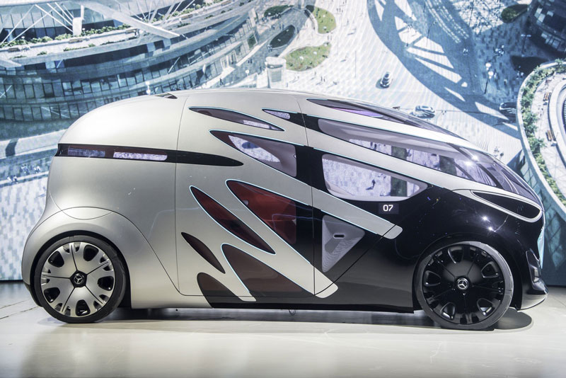 1. Mercedes-Benz Vision Urbanetic.