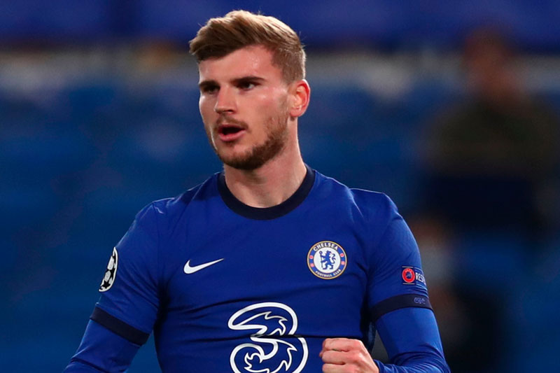 Tiền đạo: Timo Werner (Chelsea).
