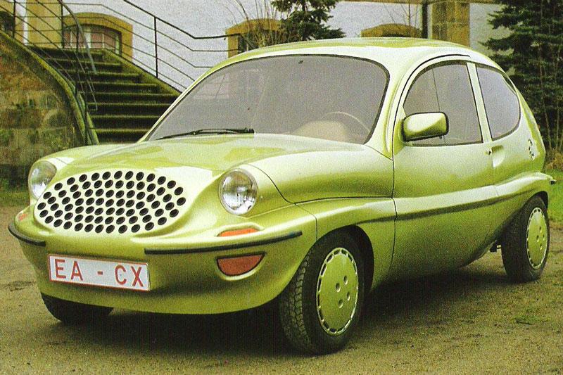 2. Colani VW Prototype.