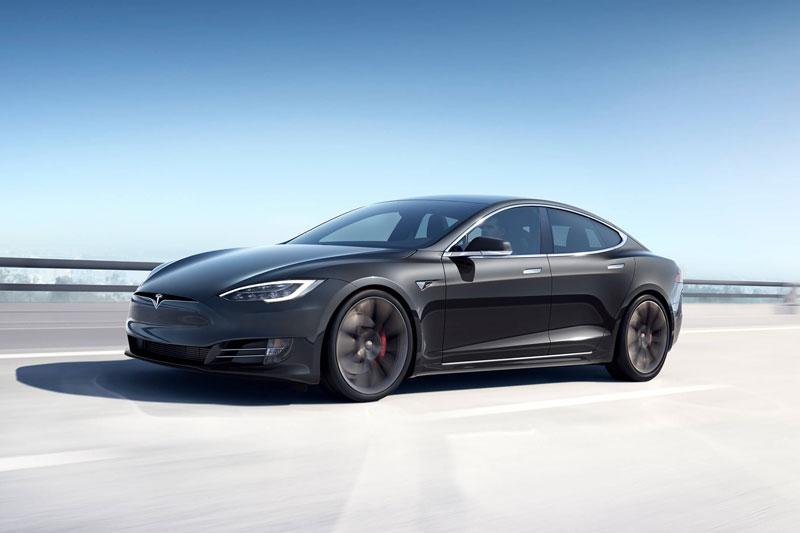 2. Tesla Model S.