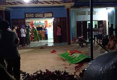 Quảng Nam: Dùng súng tự chế xông vào nhà bắn chết người