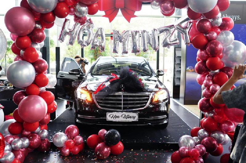 Mercedes-Benz S450 L Luxury của Hoà Minzy