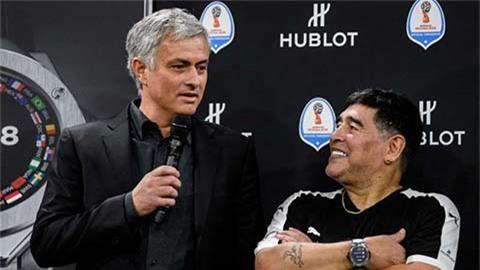 Mourinho chia sẻ câu chuyện đặc biệt về Maradona