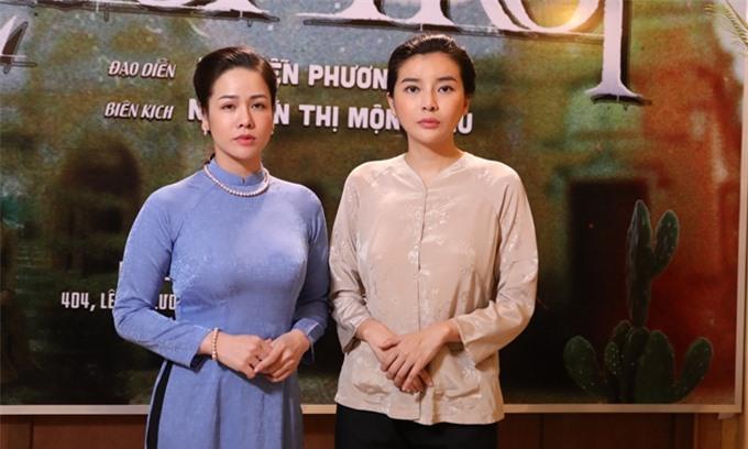 Nhật Kim Anh và Cao Thái Hà hội ngộ sau Tiếng sét trong mưa, tiếp tục chia nhau hai vai nữ chính của phim Lưới trời.