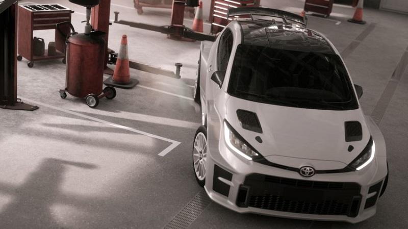 Toyota GR Yaris AP4 ra mắt, hướng tới giải đua xe chuyên nghiệp