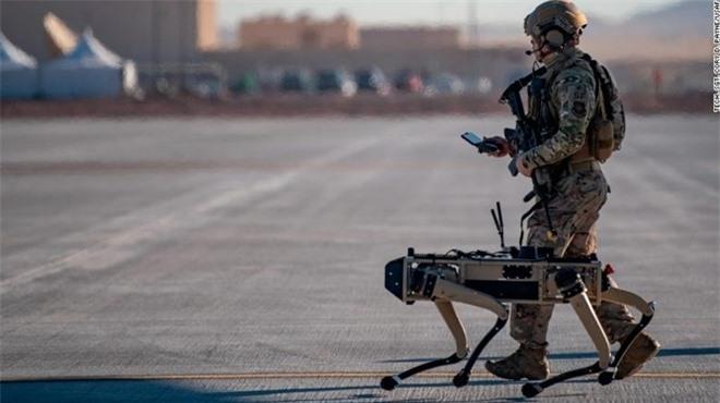 'Siêu khuyển' robot của Mỹ được đưa vào trực chiến