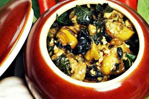 Bí quyết làm ốc nấu chuối đậu thơm phức không khó như bạn tưởng