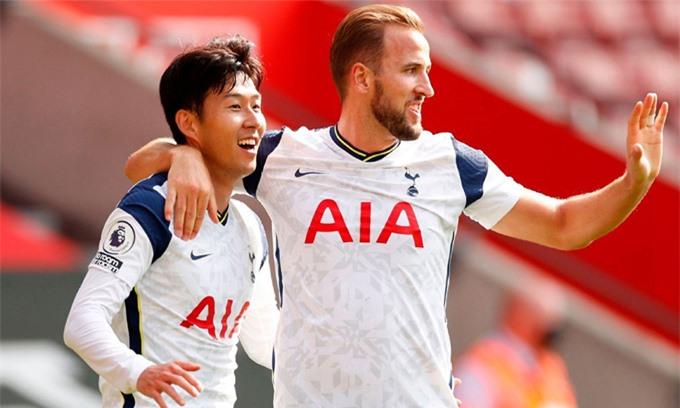 Kane và Son sẽ là niềm hy vọng giành chiến thắng của Tottenham