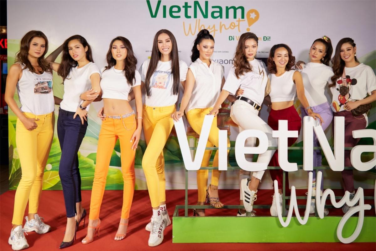 VietNam why not - Đi Việt Nam đi là chương trình truyền hình thực tế nhằm kích cầu du lịch, khơi gợi tình yêu quê hương đất nước và tự hào vẻ đẹp văn hoá du lịch Việt Nam. Show có sự tham gia của 9 hoa hậu, á hậu và người đẹp nổi tiếng. Họ trải qua nhiều thử thách từ thể lực đến trí tuệ và đặt chân đến 11 tỉnh thành khác nhau trải dọc khắp Việt Nam. Chương trình sẽ phát sóng lúc 21h55, từ ngày 27/11 trên VTV9.