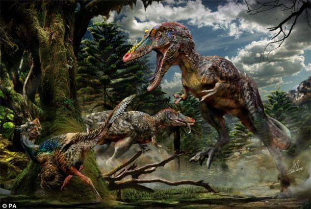 Phát hiện ra khủng long bạo chúa mũi dài
