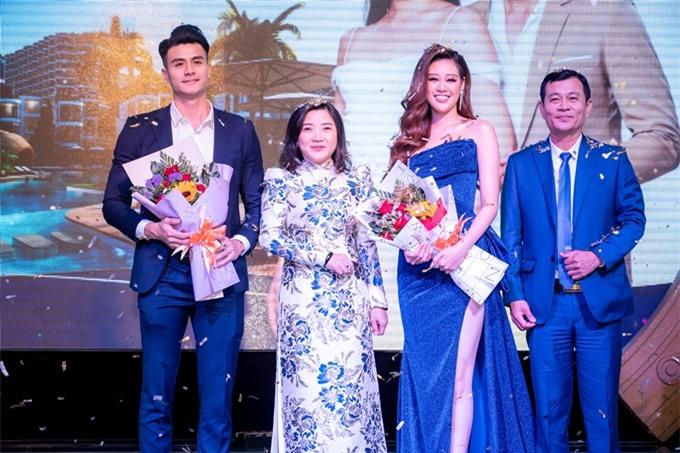 Hai ngôi sao của showbiz Việt cùng trở thành đại sứ của thương hiệu resort.