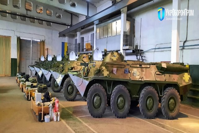 Quân đội Ukraine nhận lô thiết giáp BTR-80 nâng cấp