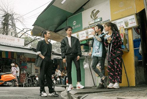 Dàn sao trong MV của Hoài Lâm