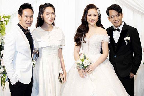 Vợ chồng Lý Hải dự cưới đạo diễn Lý Hoàng