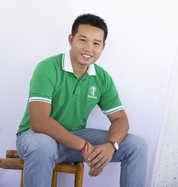 CEO của Sokfarm Phạm Đình Ngãi.