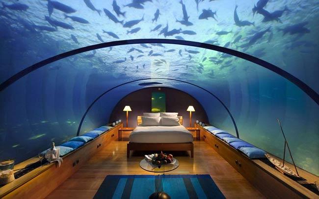 """Những khách sạn đẹp và """"dị"""" nhất thế giới"""