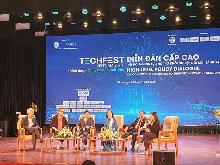 """Ông Hoàng Quang Phòng - Phó Chủ tịch VCCI khẳng định """"Khởi nghiệp và khởi nghiệp sáng tạo là động cơ chính để kinh tế đất nước phát triển bền vững"""""""