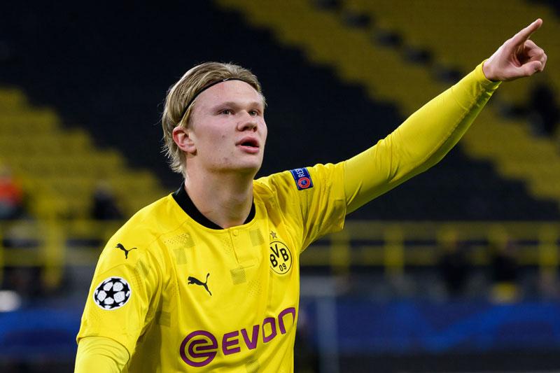 Tiền đạo: Erling Haaland (Borussia Dortmund, 20 tuổi, định giá chuyển nhượng: 100 triệu euro).