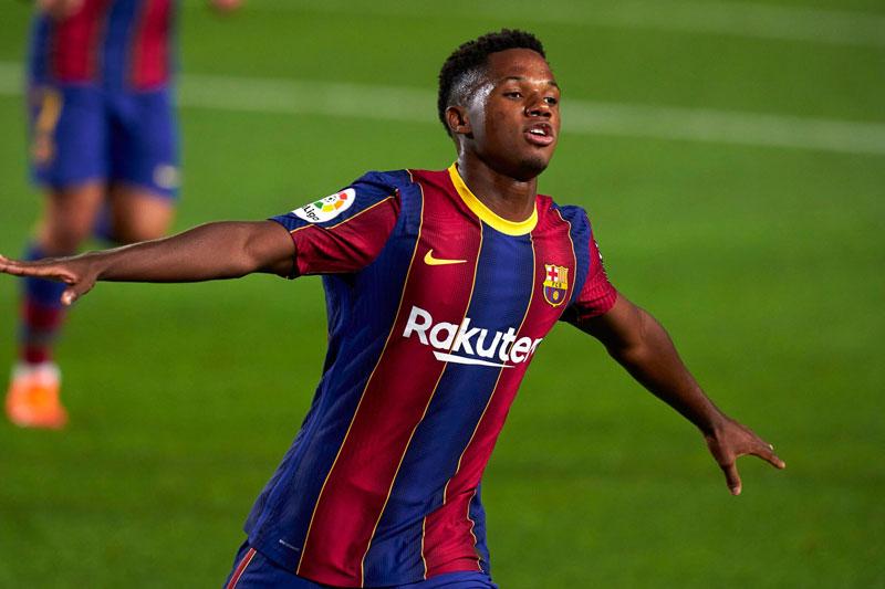 Tiền đạo: Ansu Fati (Barcelona, 18 tuổi, định giá chuyển nhượng: 80 triệu euro).