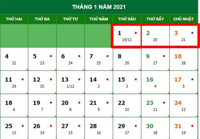 4 kỳ nghỉ dài ngày trong năm 2021 là những dịp nào? - Ảnh 1.