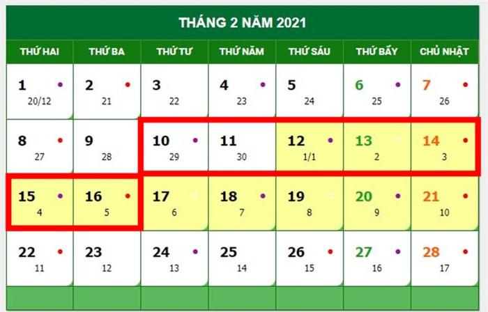 4 kỳ nghỉ dài ngày trong năm 2021 là những dịp nào? - Ảnh 2.