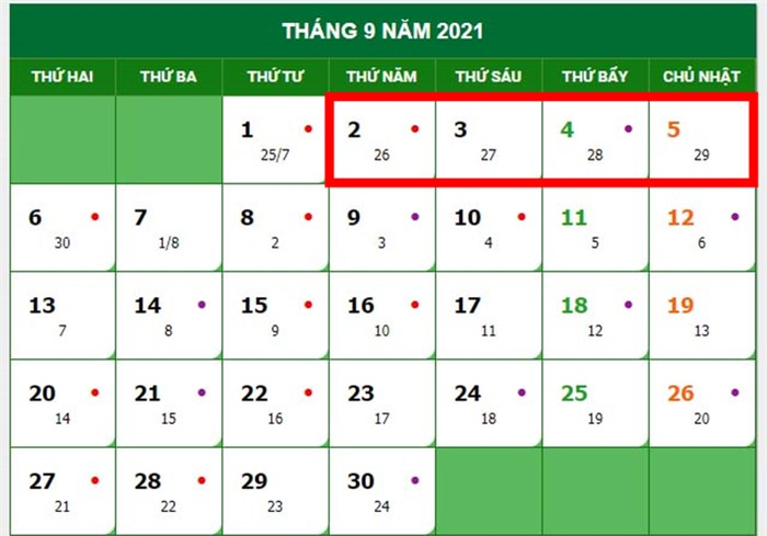 4 kỳ nghỉ dài ngày trong năm 2021 là những dịp nào? - Ảnh 5.