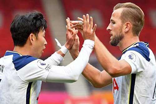 Lampard bất lực nhìn Kane-Son phá kỷ lục của mình và Drogba