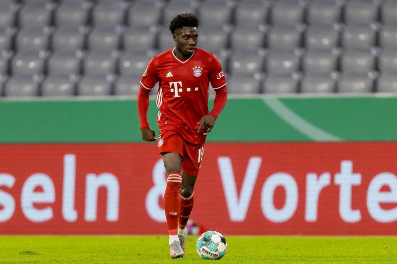 Hậu vệ trái: Alphonso Davies (Bayern Munich, 20 tuổi, định giá chuyển nhượng: 80 triệu euro).