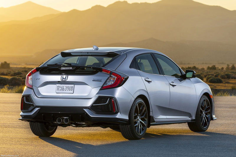 7. Honda Civic Hatchback.