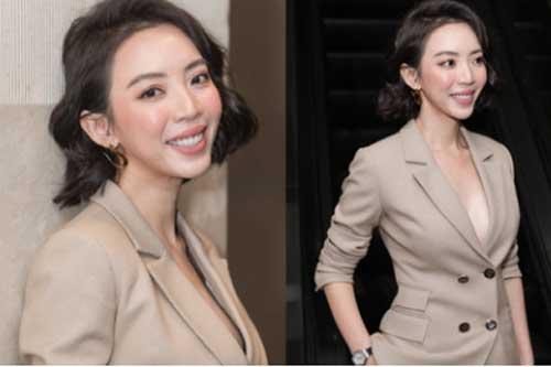 """Thu Trang khoe ngực đầy sexy, nhắc chuyện Anh Tú - Châu Bùi đóng """"Chị Mười Ba 2"""""""