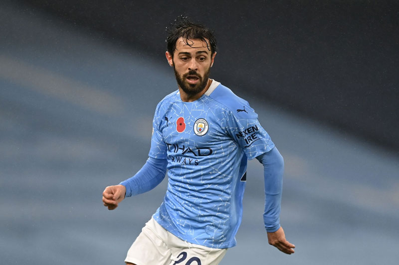 9. Bernardo Silva (Man City).