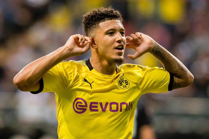 Tiền đạo: Jadon Sancho (Borussia Dortmund, 20 tuổi, định giá chuyển nhượng: 100 triệu euro).